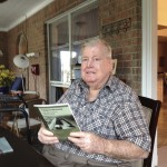 Curtis Foester, Port Lavaca who shared his experiences during WWII on his father's ranch.